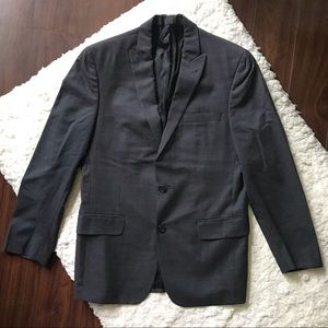 Checked Wool Blazer by John Varvatos